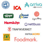SensiNet referensprojekt logotyper