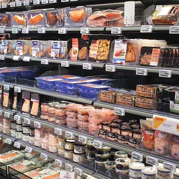 Temperaturövervakning i livsmedelsbutiker